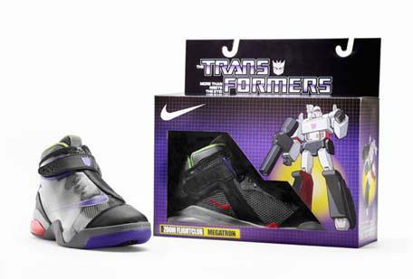megatron transformers shoes
