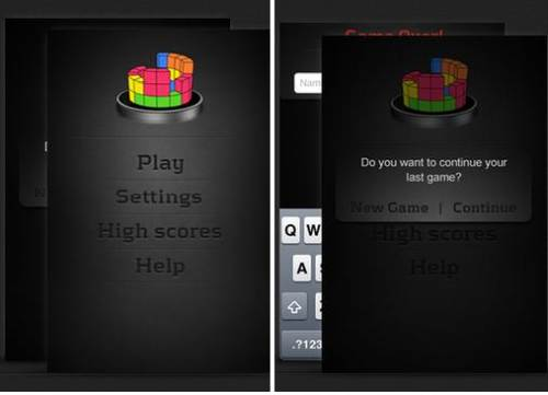 tetris iphone application