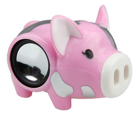 cool pig computer speaker