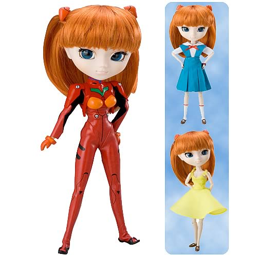asuka evangelion pullip doll