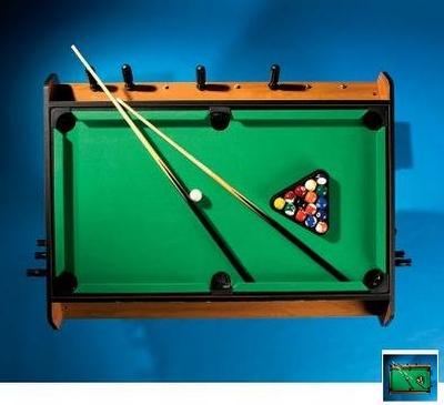 indoor billiard game table