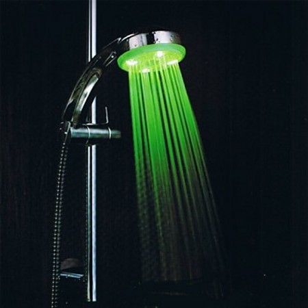 color changing led shower heads