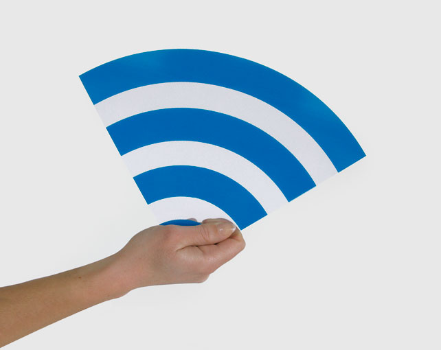 cool wifi design fan