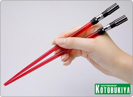 cool star wars lightsaber chopsticks
