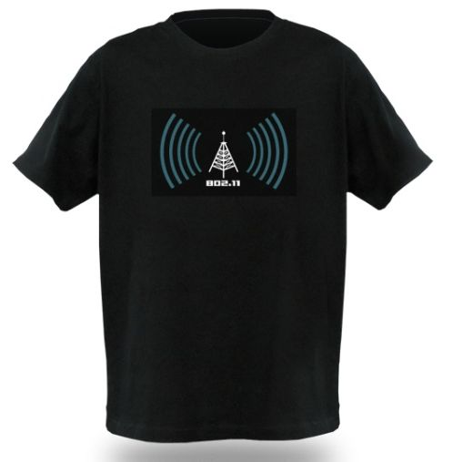 cool wifi signal theme shirt