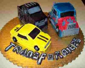 transformers cars cake design