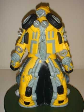 bumblebee transformer cake design