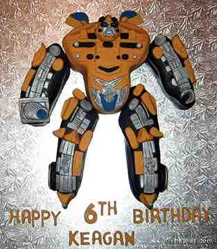 cool transformers cake designs
