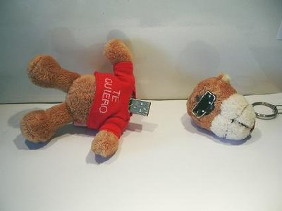 funny usb flash drive teddy bear
