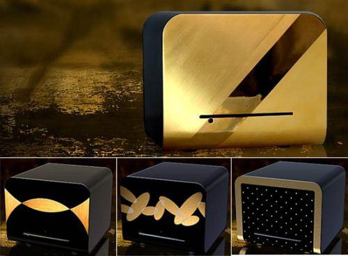gaiser  computer pc gold plate