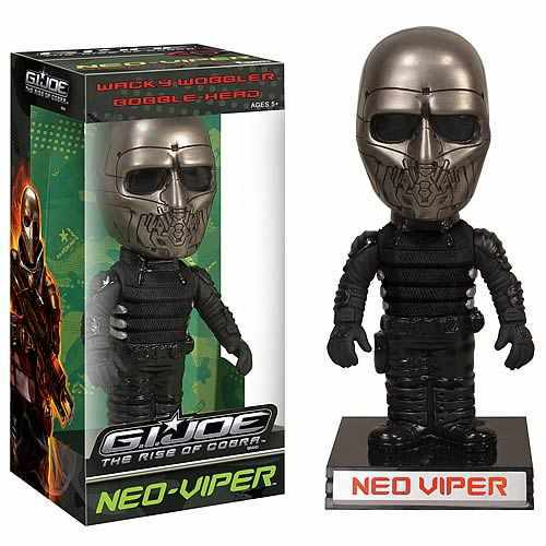 gi joe cobra bobble head