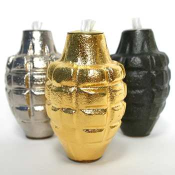new grenade oil lamp