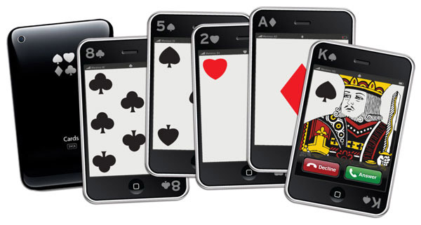 new iphone playing cards