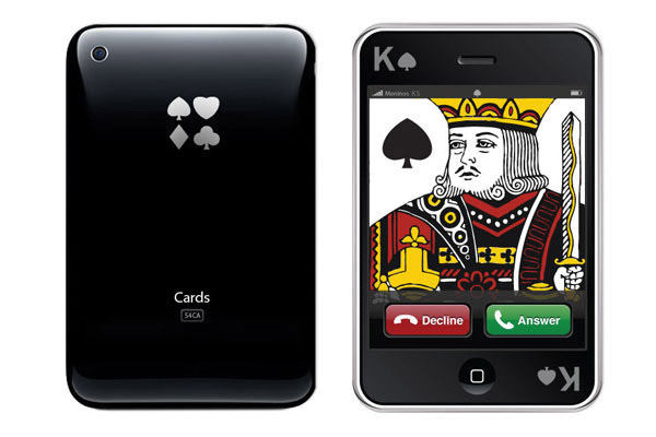 new iphone design deck of cards
