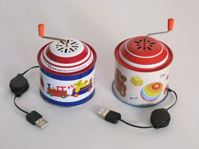 music box usb drive
