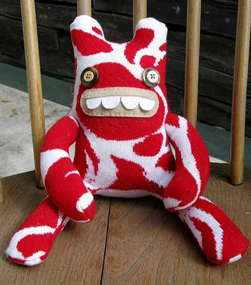 meat monster plush toy