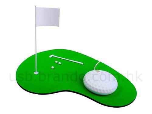 mini golf course mousepad