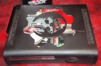 new gears of war xbox 360 case mod