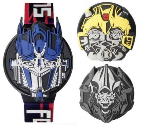 new transformers watch design