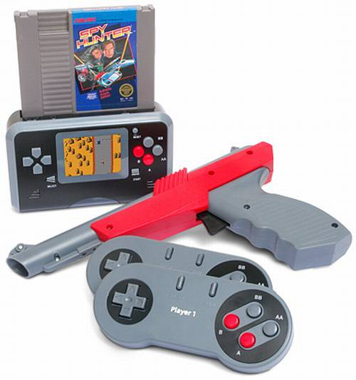 cool nes game console remake