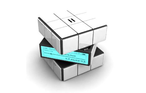 rubik's cube mp3 player