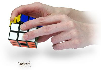 cool rubik's cube salt and pepper shakers