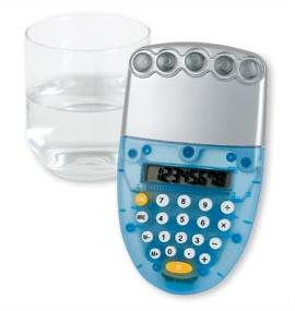 cool new water powered calculator