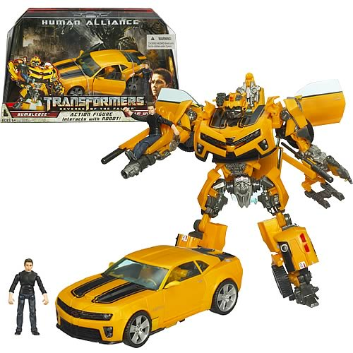 bumblebee transformer action figure