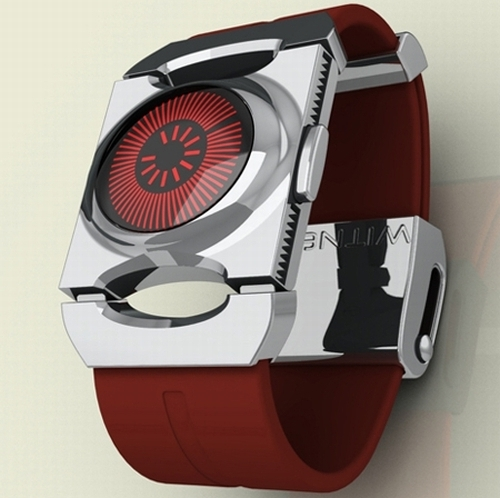sun dial watch design