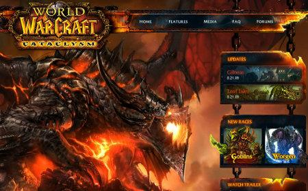 world of warcraft expansion cataclysm