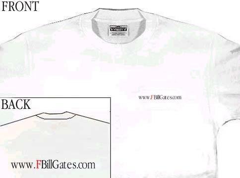 f bill gates t shirt