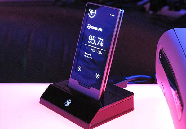 microsoft zune hd with stand