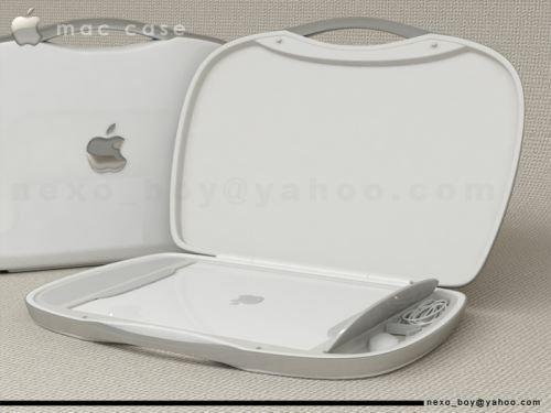 apple macbook suitcase design