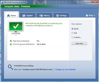 free microsoft security essentials download