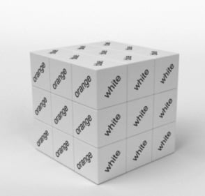 fun rubiks cube without colors