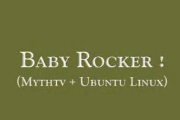 funny linux script baby rocker