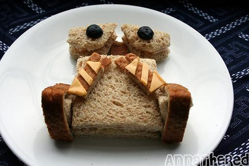 funny wall e food art