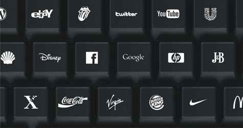 brand computer keyboard