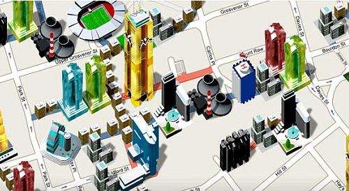 google maps monopoly city streets game
