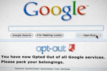 google opt out feature