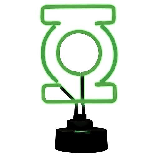 green lantern neon lamp collectible