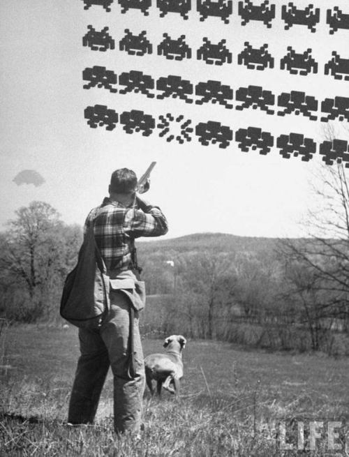 real life space invaders aliens