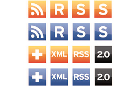 new rss icons design