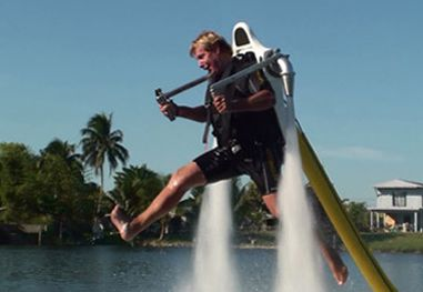 water jetpack jetlev flyer