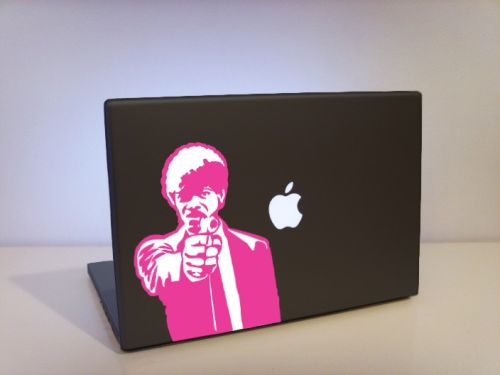 jules pulp fiction laptop decals