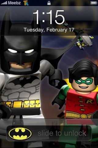 lego batman iphone theme