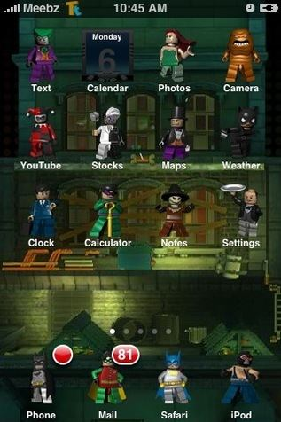 batman iphone icons