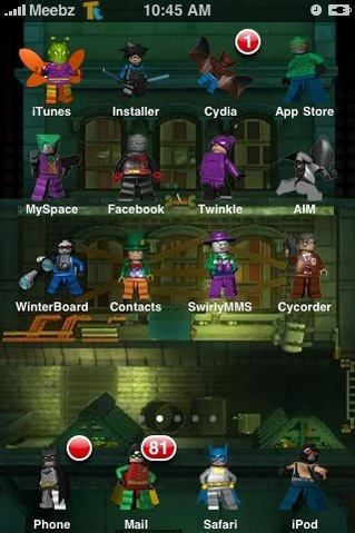 iphone icons batman characters