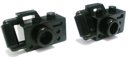 miniature lego camera studs
