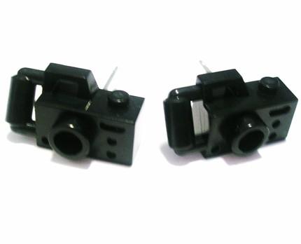 mini camera made of lego bricks